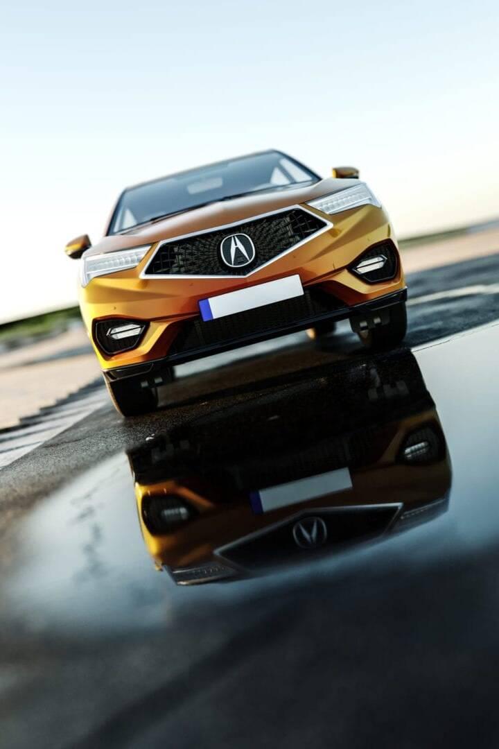 Acura 3D Automotive Visualization 01