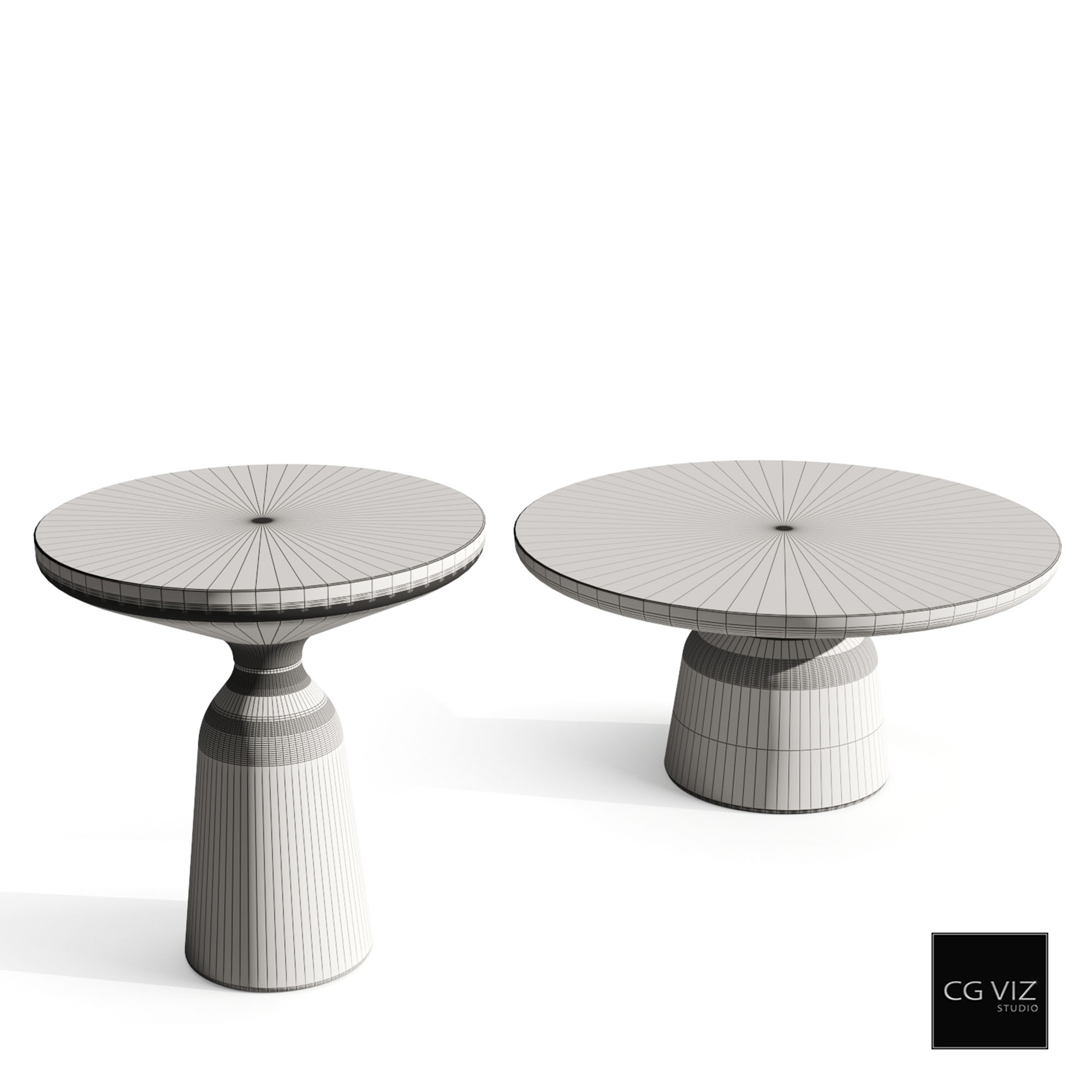 classicon bell side table_wireframe